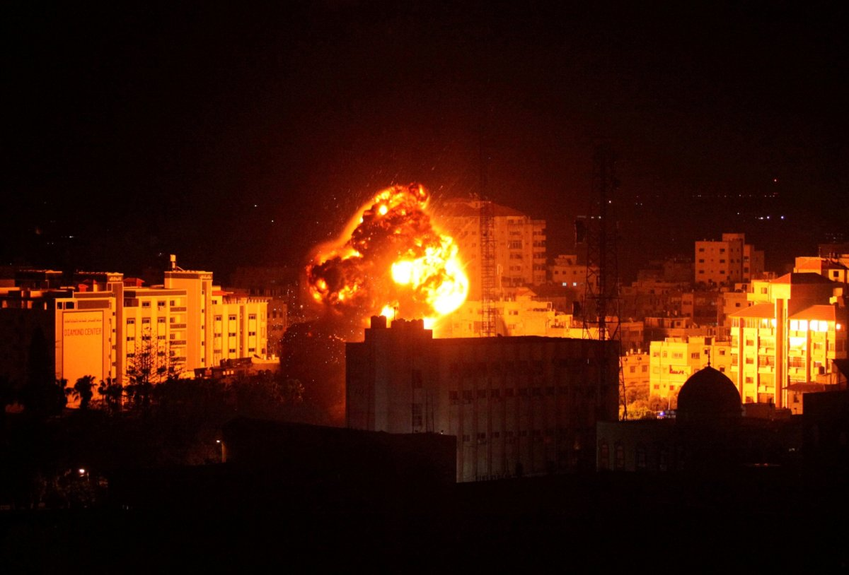 Fire from Hell in the Holy Land